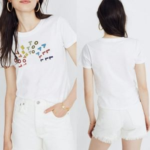 Madewell X Human Rights Love To All Graphic Tee